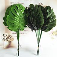10 Ramo Seda Plantas Flores artificiais