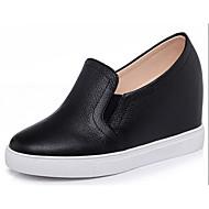 Damen-Sneaker-Lässig-PUKomfort-Weiß Schwarz