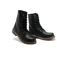 Men's Boots Summer Light Soles Rubber Casual Low Heel Hiking