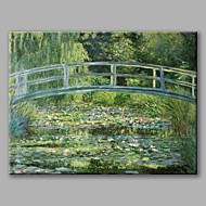Hand Painted Famous Oil Painting Copy Wall Art with Stretched Frame For Home Decoration