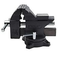 Stanley 4.5 / 115 mm Lichtschraubstock aus strapazierfähigem Gusseisen-Schaft bietet eine hohe Festigkeit