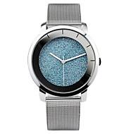 Dames Modieus horloge Kwarts Automatisch opwindmechanisme Legering Band Zilver