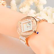 Dame Moteklokke Armbåndsur Unike kreative Watch Hverdagsklokke Quartz Legering Plast BandVedhend Armband Kul Fritid Kreativ Luxury