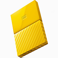 Wd wdbynn0020byl-cesn 2tb 2,5 inch gele externe harde schijf usb3.0