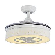 天井ファン ,  コンテンポラリー ペインティング 特徴 for LED メタル リビングルーム ベッドルーム キッチン ダイニングルーム 研究室/オフィス 1x電球