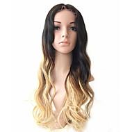130% hustota lidských vlasů paruky ombre t # 1b / # 4 / # 27 módní vlna plná krajka paruka panenka vlasy glueless paruka krajka přední
