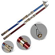 釣り竿 テレスピンロッド 炭素鋼 210 M 一般的な釣り 釣り竿 + リール-