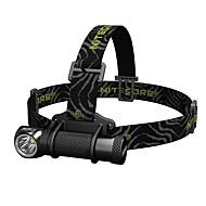 Nitecore® HC30 ヘッドランプ LED 1000 ルーメン 5 モード XM-L2 U2 18650 CR123A 調光可能 スーパーライト ハイパワー 緊急キャンプ/ハイキング/ケイビング 日常使用 ダイビング/ボーティング 警察/軍隊 サイクリング 狩猟 釣り 旅行 運転