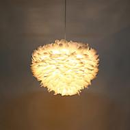 Post Modern Industrial Loft Amercian Style Feather Pendant Lamp for the Corridor / Indoor / Hotel Decorate Drop Lighting Fixture