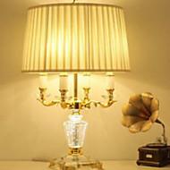 40 Cristal Luminária de Mesa , Característica para Cristal Lâmpadas ambiente , com Usar Interruptor On/Off Interruptor