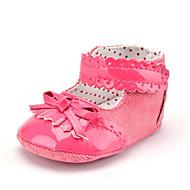 Kinderen Baby Laarzen Eerste schoentjes Enkellaarsjes Keperstof PU Zomer Herfst Causaal Formeel Feesten & UitgaanEerste schoentjes