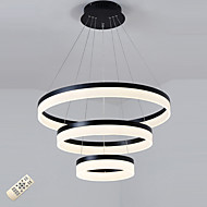 Montage de Flujo ,  Moderno / Contemporáneo Anodizado Característica for LED Regulable AcrílicoSala de estar Dormitorio Comedor