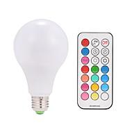 9w ac85-265v e26 / e27 10w ledスマート電球a80 38 smd 5050暖かい白rgb v 1個