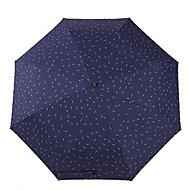 Regenschirm /Sonnenschirm fürWeiß Beige Dunkelblau