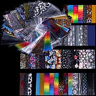 48 Adesivos para Manicure Artística Folha Tape Stripping maquiagem Cosméticos Designs para Manicure