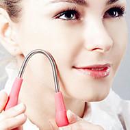 1pcs cabelo facial removedor de pêlos do corpo rosto removedor de primavera Epistick depiladora para as mulheres (19 cm)