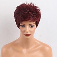 Vruća prodaja kratka prirodna valna ljudska kosa za ženu