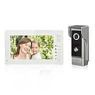 7 inch kleur handsfree video deurtelefoon intercom systeem deurbel een monitor met waterdichte camera