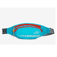Mulher Bolsas Primavera/Outono Verão Fibra Sintética Bolsa de Cintura com para Esportes Laranja Verde Azul Céu Rosa claro Violeta