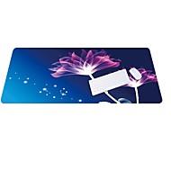 Lo5 lotus musepute overdimensjonert tykkere lås tastatur pad gummi klut 100cm * 50cm