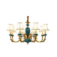 すべての銅のシャンデリアの翡翠装飾の部屋シャンデリアkp