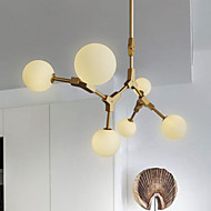 40W závěsné světlo, tradiční / klasické malířské funkce pro dřevěný / bambusový pokoj v minimálním stylu / ložnice / jídelna / studium