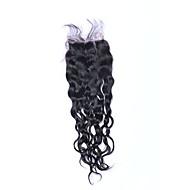 1 sztuka 8-20 cali 100% nieprzereagowana klasa 7a naturalna fala naturalna czarna braziliana ludzka strzyżona bez włosów część bezszwowa