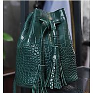 Damen Taschen Ganzjährig PU Umhängetasche mit für Normal Grün Schwarz Rote