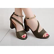 Damen High Heels Pumps Leder Kunstleder Sommer Normal Schwarz Grau Grün Rosa 2,5 - 4,5 cm