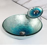Krug Sudoper materijala je Staklo Kupaonica Sudoper Kupaonica pipa Kupaonica Montaža Ring Kupaonica za odvod vode