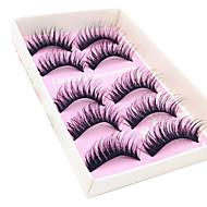 Eyelashes lash Full Strip Lashes Eyes Fiber Black Band