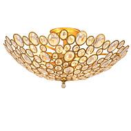 Lightmyself 9 světla zlatý moderní krystal stropní svítidlo vnitřní světla pro obývací pokoj ložnice jídelna