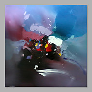 Hånd-malede Abstrakt Abstrakt Et Panel Kanvas Hang-Painted Oliemaleri For Hjem Dekoration
