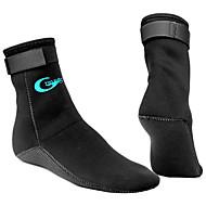 YON SUB Su Çorapları Erkek Kadın's Sıcak Tutma Anti-Kayma Ayarlanabilir Boyut Kalın 3mm Spor Atletik Dalış Sörf