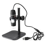 Mikroskoper Professionelt niveau Klassisk & Tidløs Hobbylegetøj Sort Fade ABS
