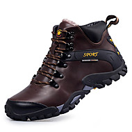 Men's Boots Comfort Snow Boots Fashion Boots Light Soles Real Leather Fall Winter Athletic Casual OutdoorComfort Snow Boots Fashion Boots