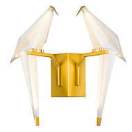 AC220 16 integrierte LED Tiffany Einfach Traditionell-Klassisch Landhaus Stil Golden Eigenschaft for LED Ministil Birne inklusive,