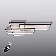 リビングルームのベッドルームのためのリモコン調光器とモダンなled天井ライトフラッシュマウントの壁の光alumiliumの絵