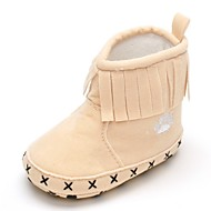 Baby Platte schoenen Comfortabel Modieuze laarzen Weefsel Herfst Winter Bruiloft Causaal Formeel Feesten & Uitgaan Kwastje(s) Magic tape