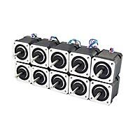 3D מדפסת nema 17 stepper מנוע ליניארי בורג 2 שלב 3d מדפסת חריטה מכונת (Pack של 10pcs)