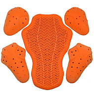 Dsso 108 Motorrad-Schutz d3o Polymer Anti-Schock-Material Fünf-Stück-Motorrad-Rennen Fall abnehmbare eingebaute Schutz