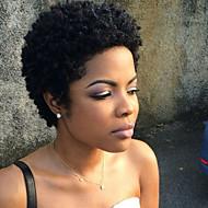 נשים שיער ללא שיער שחור קצר מתולתל