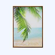 Paysage Peinture à l'huile encadrée Art mural,Bois Matériel Avec Cadre For Décoration d'intérieur Cadre Art Salle de séjour Salle à manger