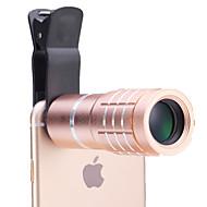 universal lentile 10 × telescop pentru telefoane mobile iPhone / Samsung argint / aur / trandafir / negru