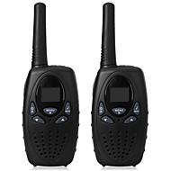1 watt lang bereik zwart 2 stuks walkie talkie radio scanner frs gmrs 2 way cb radio's uhf ptt vox zender pmr voor kinderen