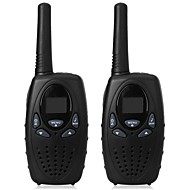 1 watt de alcance longo preto 2pcs walkie talkie scanner de rádio frs gmrs 2 way cb rádios uhf ptt vox transmissor pmr para crianças
