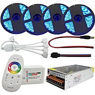 200W Verlichtingssets 20000 lm AC100-240 V 20 m 1200 leds RGB