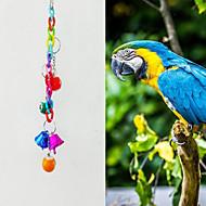 鳥 鳥用おもちゃ メタル プラスチック マルチカラー