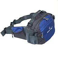 Unissex Bolsas Todas as Estações Poliéster Bolsa de Cintura com para Casual Azul