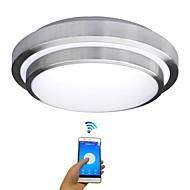 Jiawen levou wifi luzes de teto sem fio 15w iluminação interna inteligente com controle remoto de controle ac 85-265v